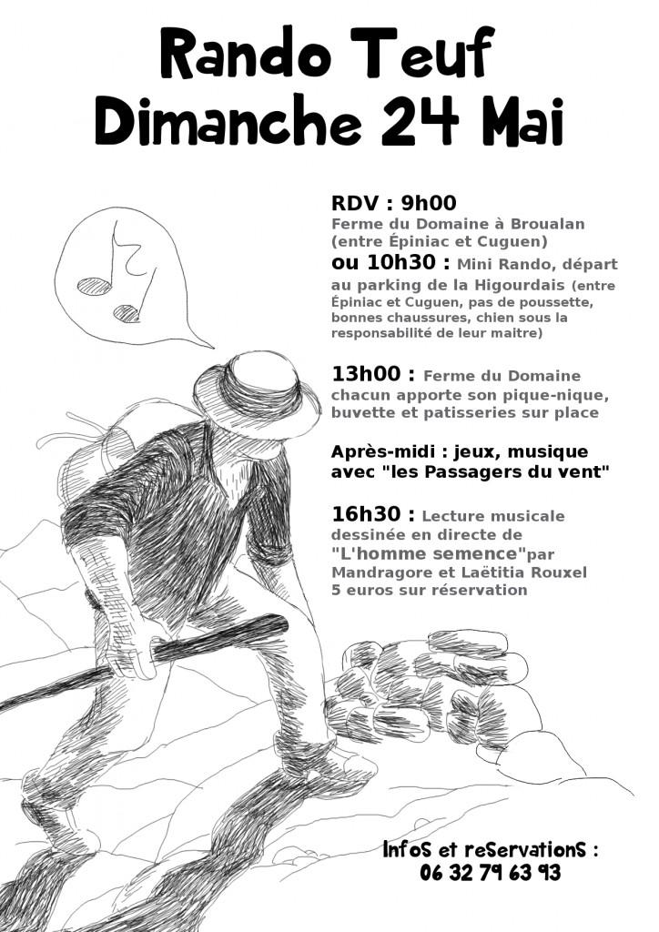 homme semence editions l'oeuf Mandragore Laëtitia Rouxel lecture dessinée Violette Ailhaud