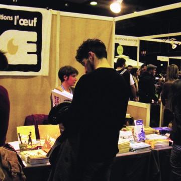 festival BD bande dessinée l'oeuf éditions livres stand Colomiers